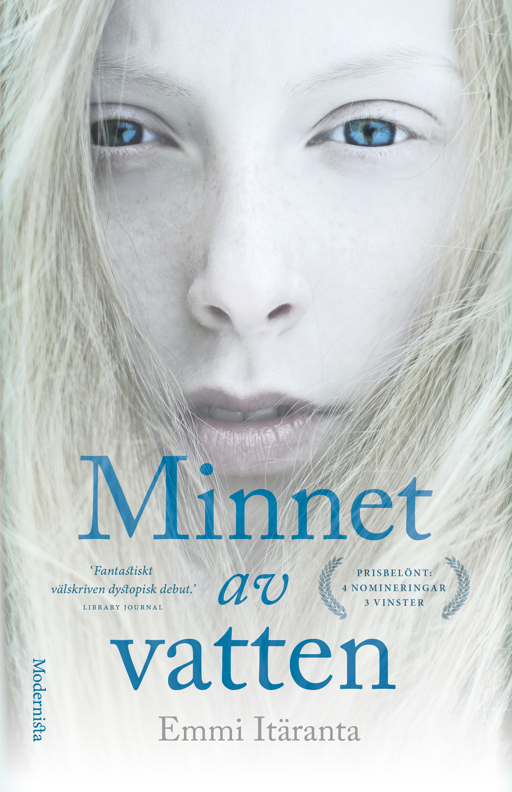 Minnet av vatten book cover